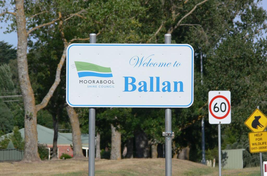 Ballan sign